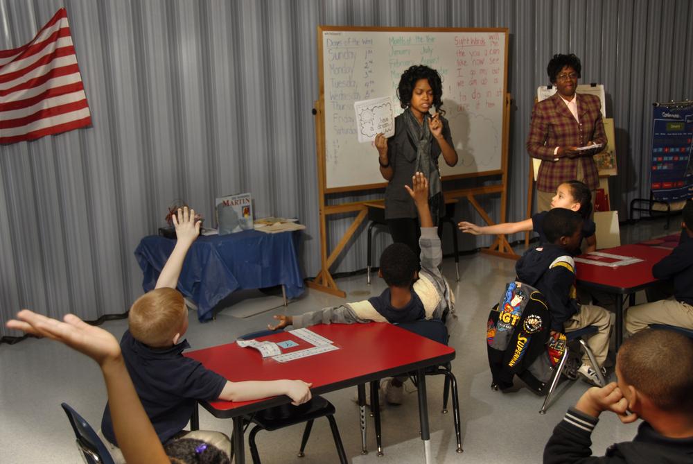 A charter school classroom in Gastonia, NC. Billy E. Barnes/shutterstock