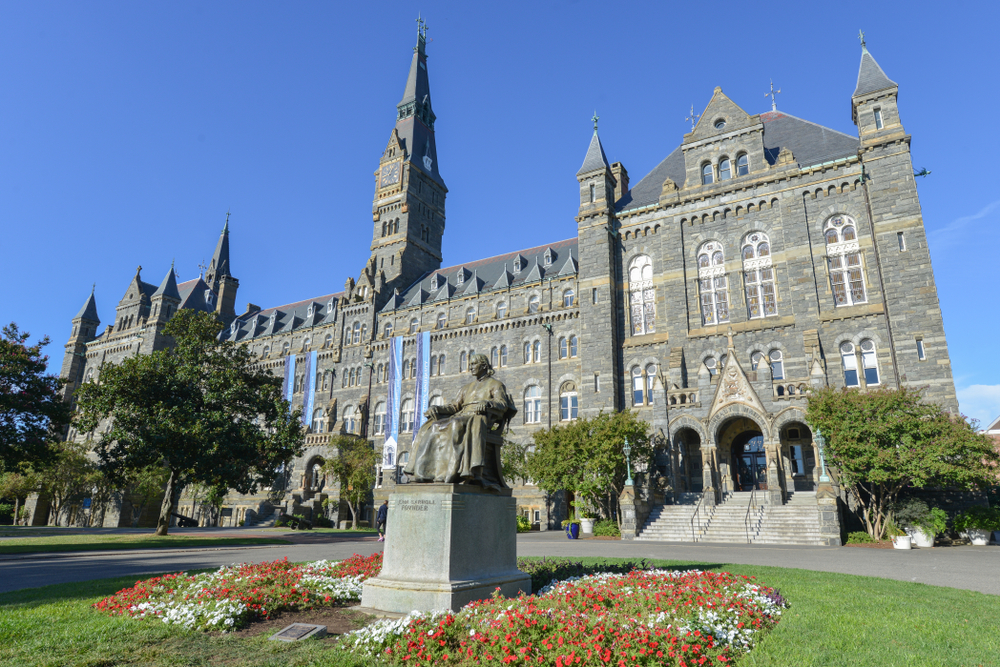Georgetown university. Orhan Cam/shutterstock
