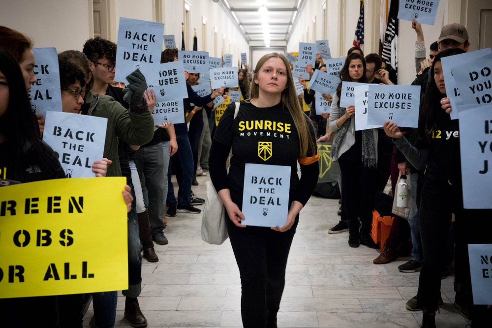 A protest last December at the U.S. House of representatives. Rachael Warriner/shutterstock
