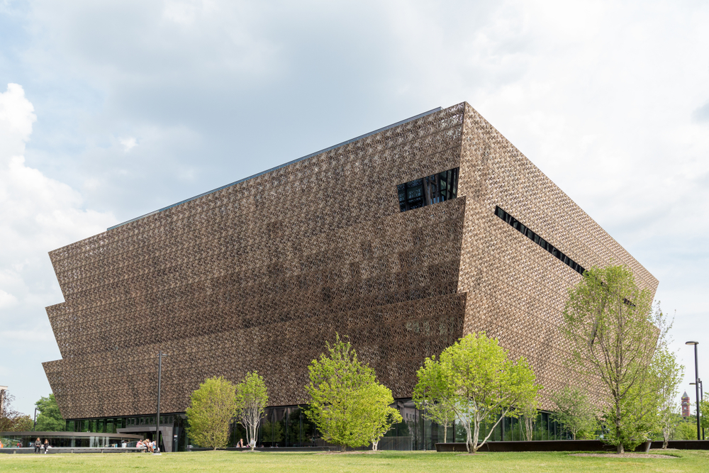 Smith was among the top donors to the National Museum of African American History and Culture. Gustavo Rossi/shutterstock
