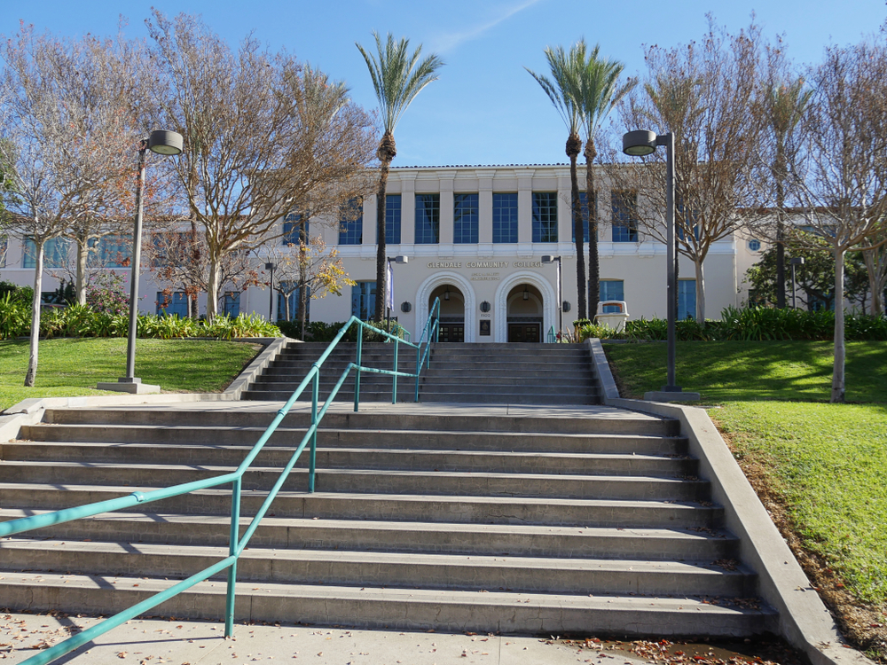 Glendale community college. RaksyBH/shutterstock