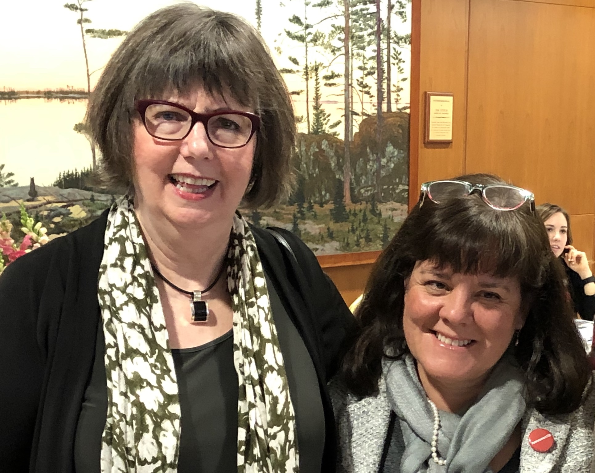 Martha Taylor (left) and Lori DiPrete Brown have spearheaded a five-year old program that greatly enhances fundraising and giving for women and girls at the University of Wisconsin-Madison.