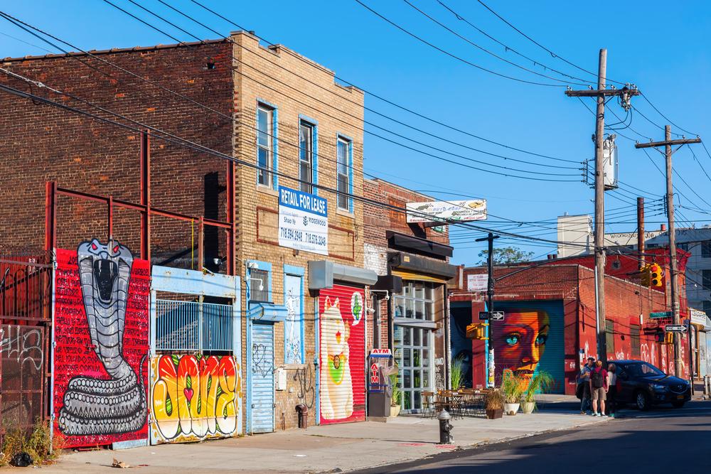 Mural art in Bushwick, Brooklyn. Christian Mueller/shutterstock