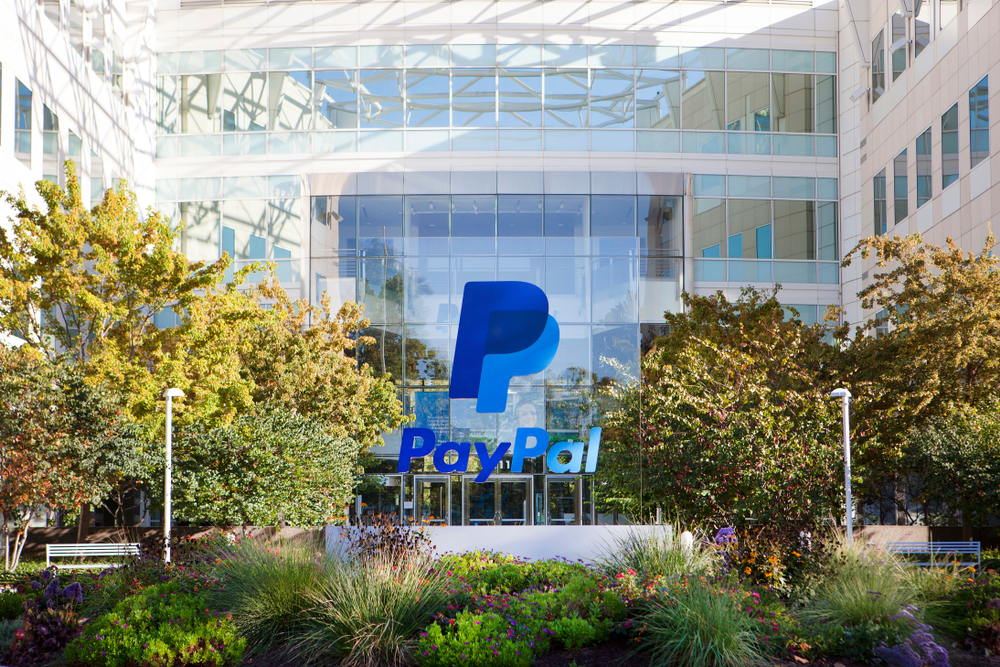 Paypal's headquarters in San Jose, CA. MariaX/shutterstock
