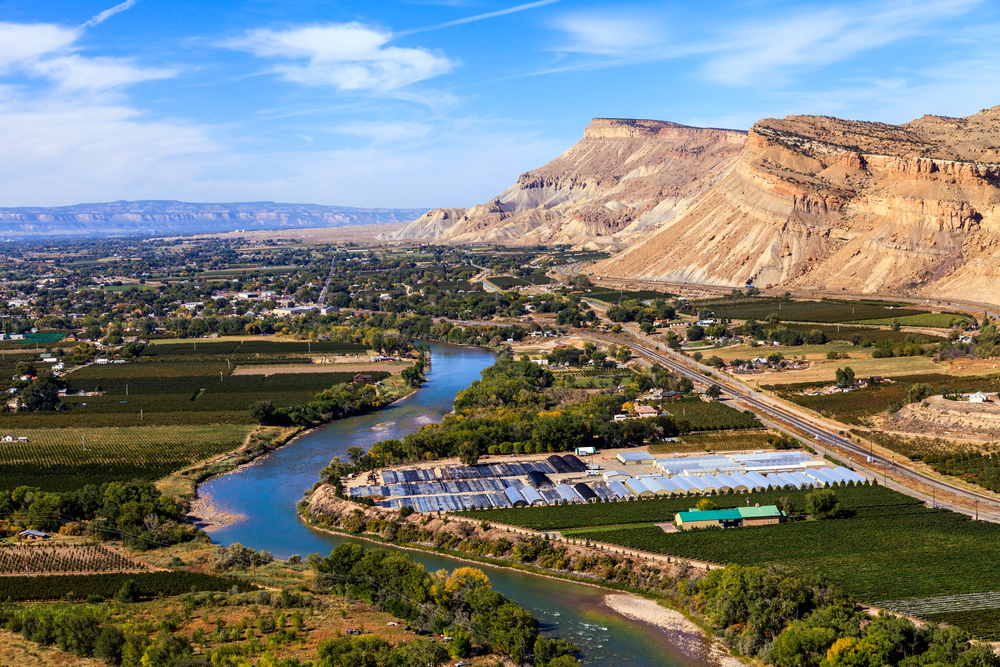 Grand Junction, CO. Paul Gana/shutterstock