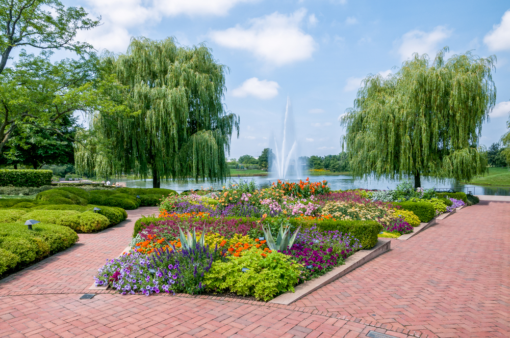 The Chicago Botanic garden. photo: elesi/shutterstock