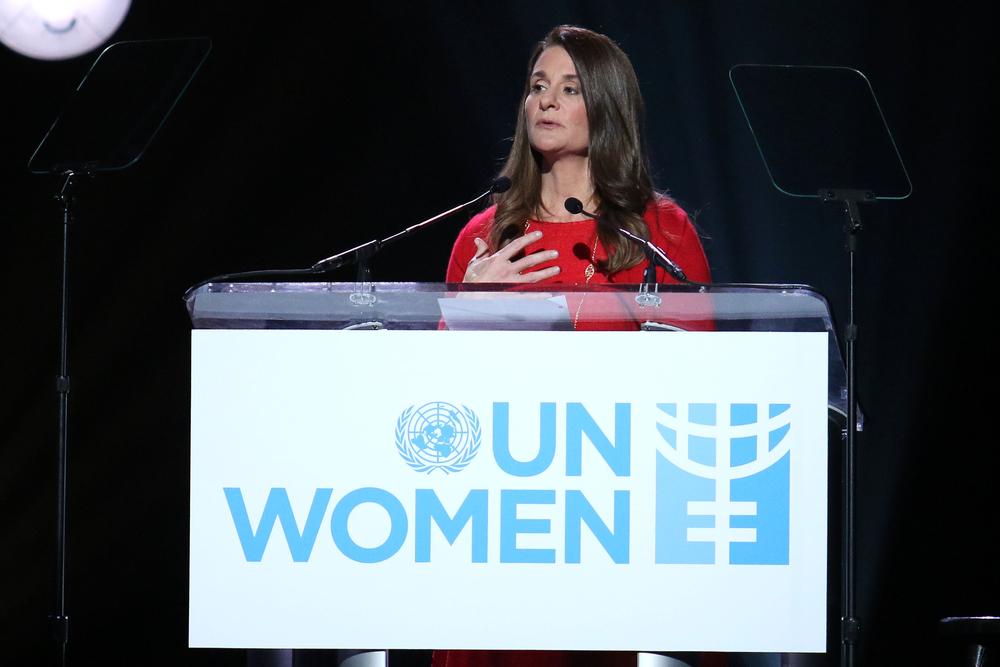 Melinda Gates in 2015. JStone/shutterstock
