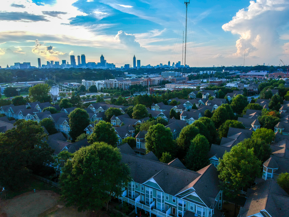 Atlanta is one of the cities to receive Rockefeller funding. Marc Wiesyk/shutterstock