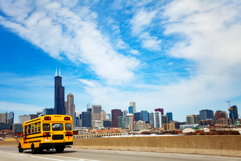 only 18 percent of Chicago Public School ninth graders go on to graduate from college by the age of 25. PHOTO: Sergey Novikov/SHUTTERSTOCK