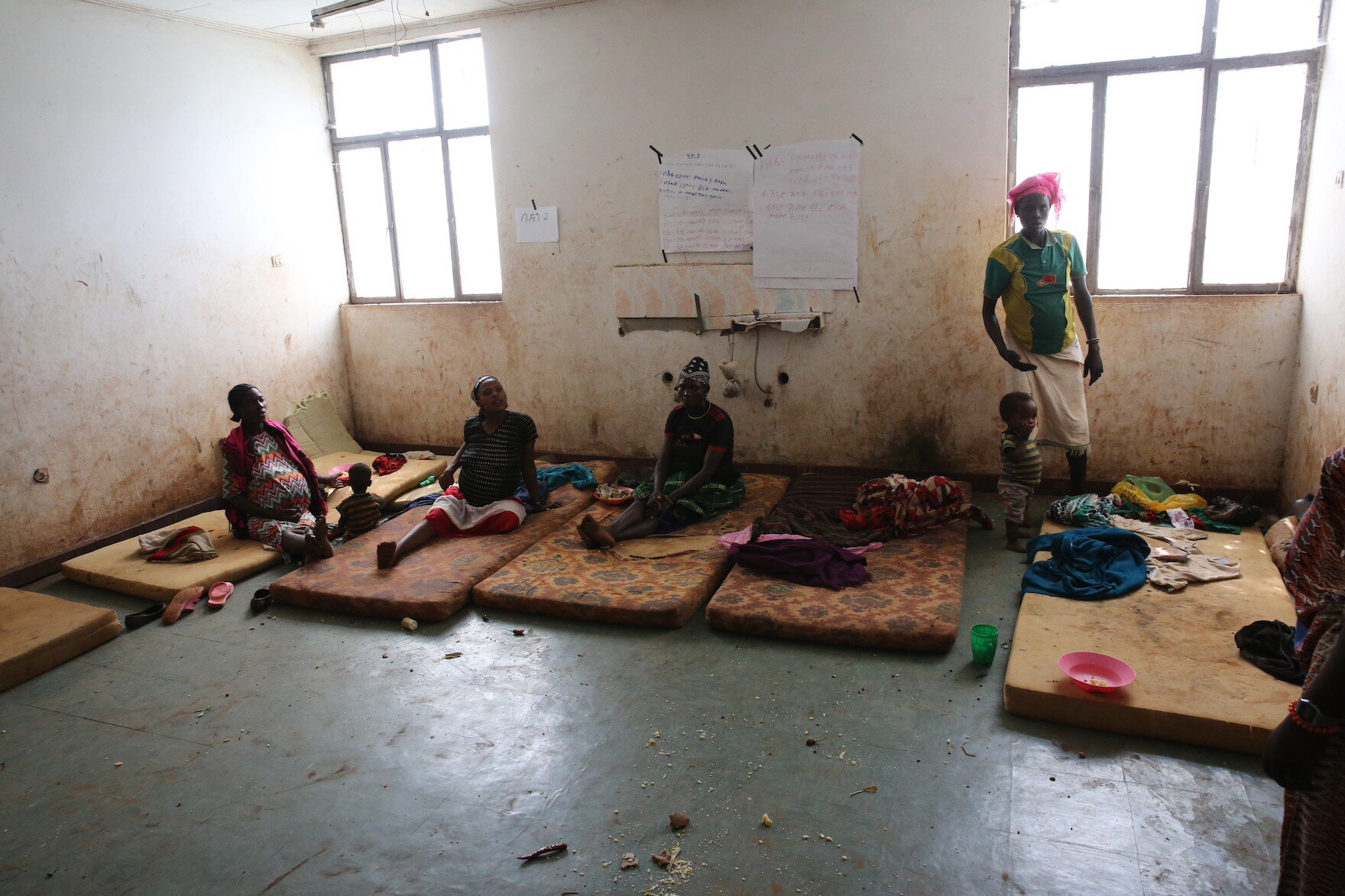 Maternity waiting area in rural Ethiopia. Courtesy: Village Health Partnership. PHOTO CREDIT:  Haik Kocharian