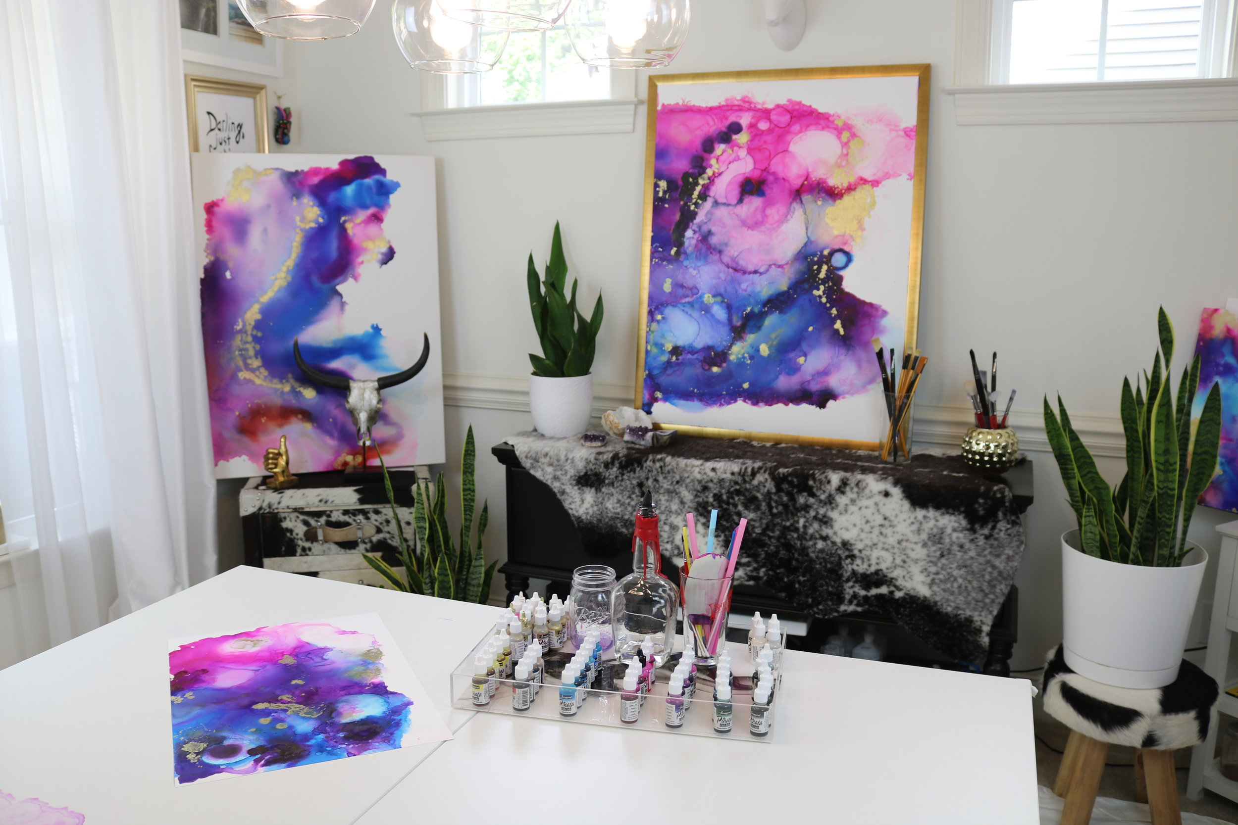 art commission by jenna webb - original painting