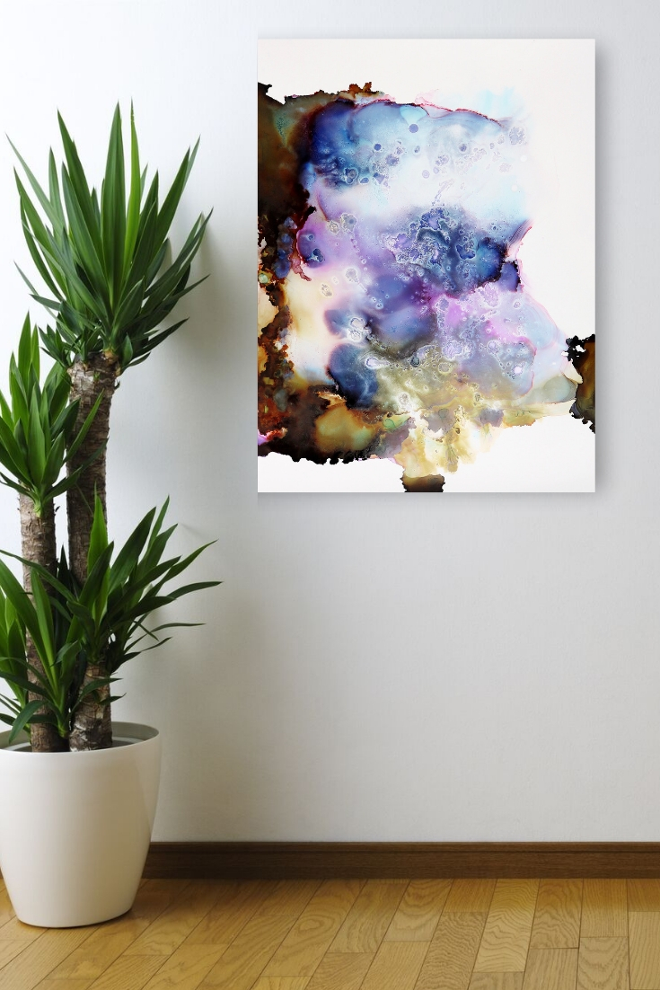 art purple with blue amethyst abstract painting - energy crystal paintings jenna webb art.jpg