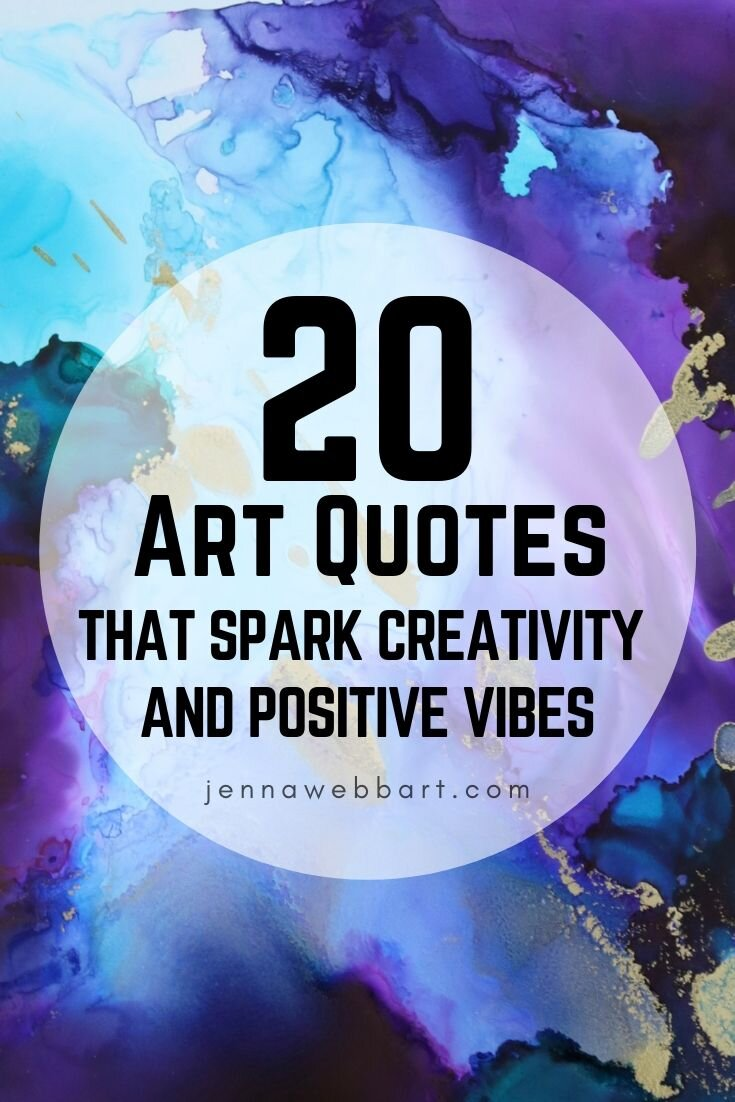 Art Quotes Jenna Webb Art Advanced Alcohol Ink Techniques And Tips To Sell Art Online
