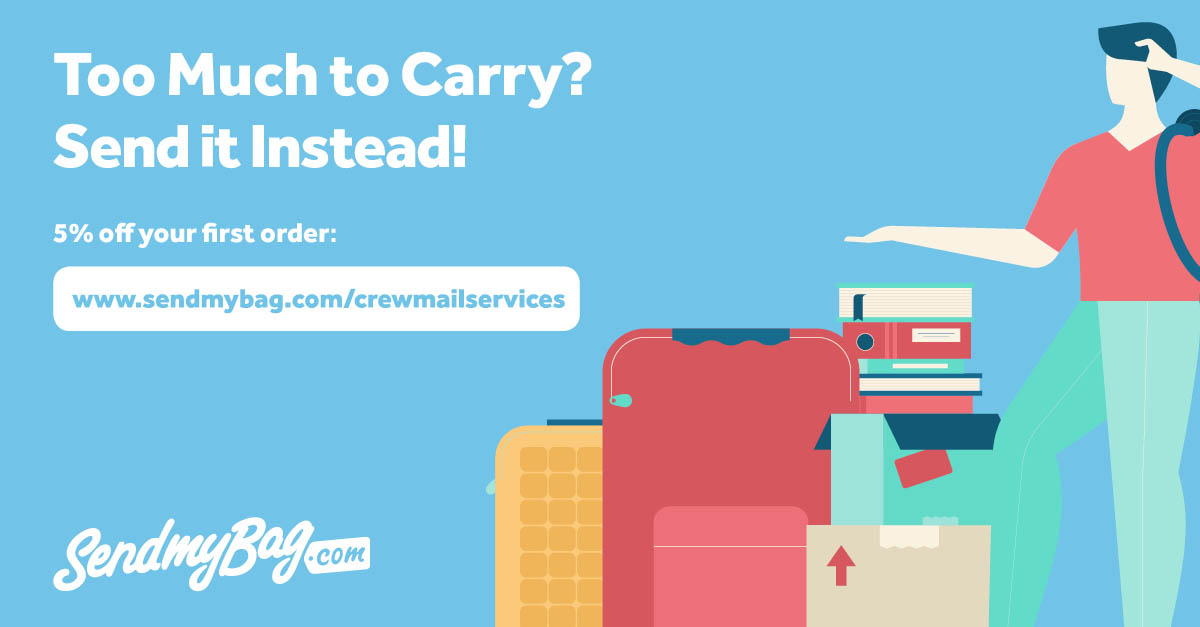 Crew Mail Services & Send My Bag