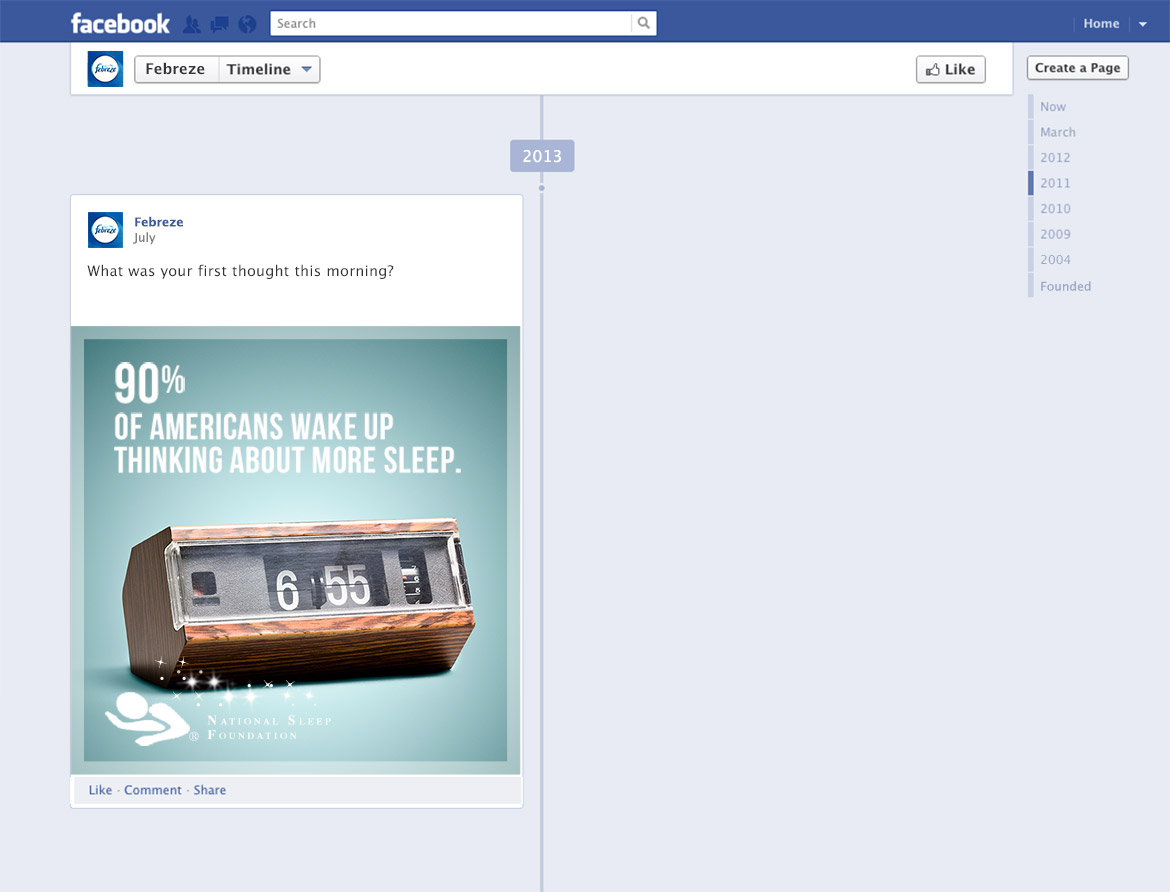 Facebook Promotion - Post-launch