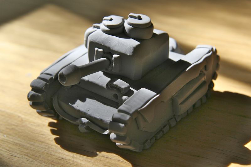 Clay Tank