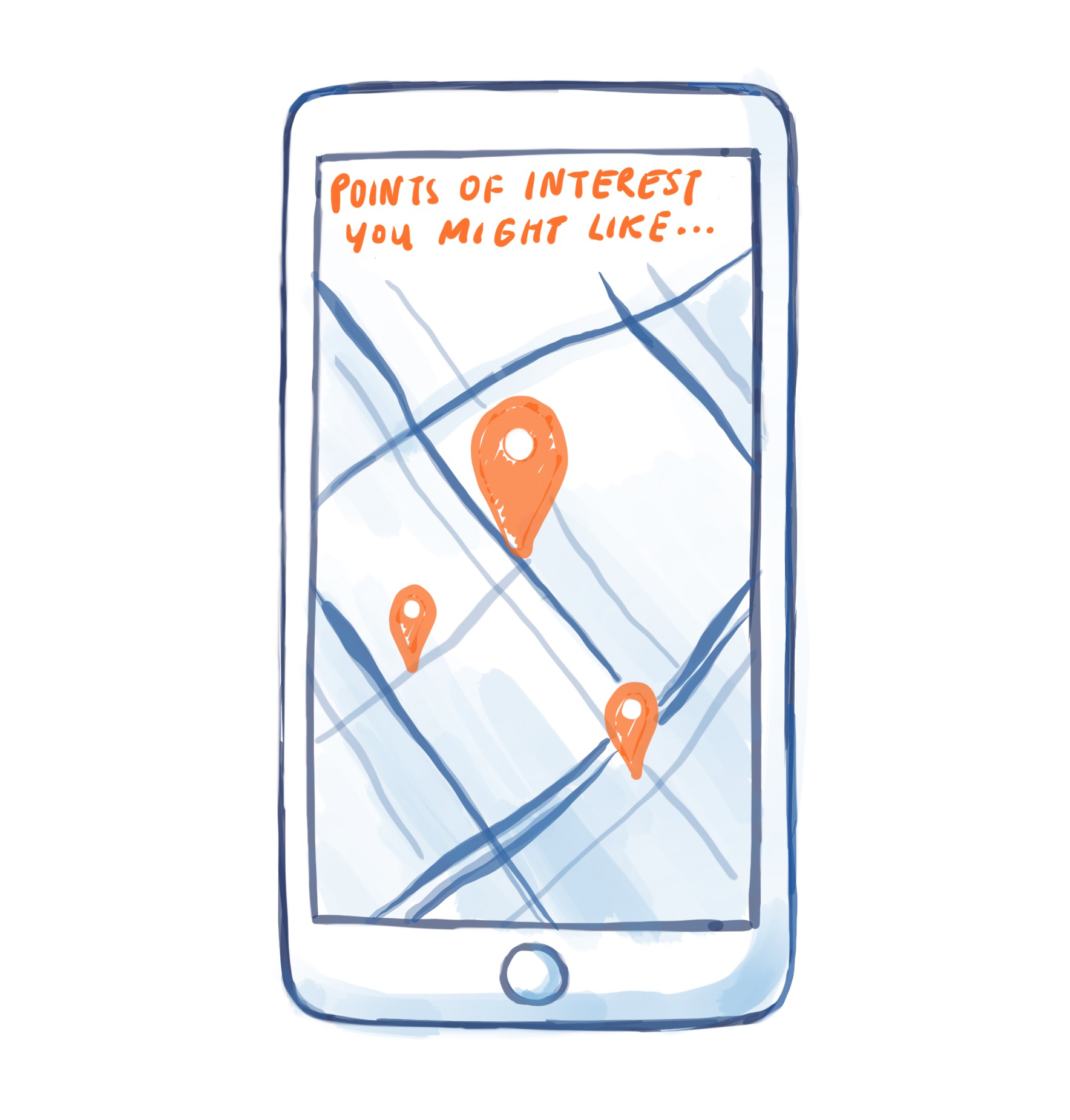 Opportunity space: physical location based personalization