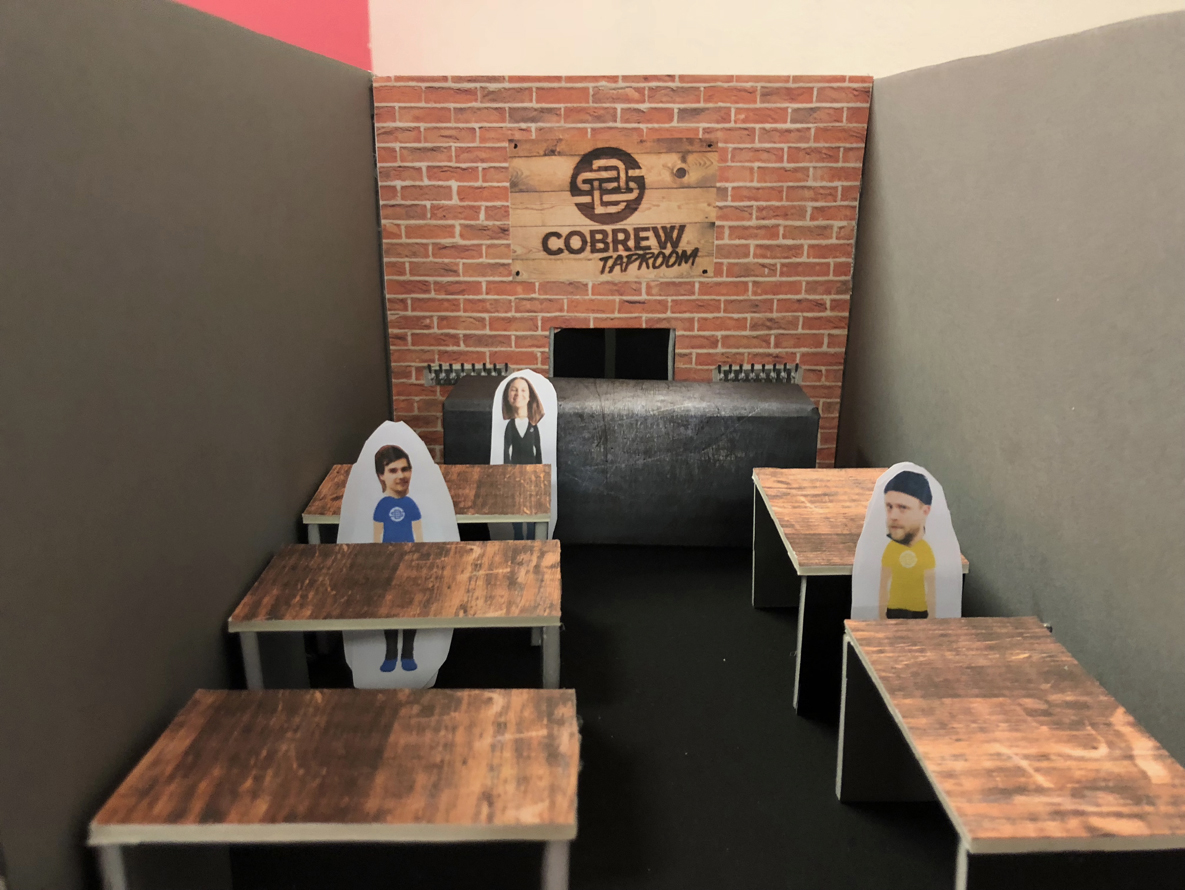 Shindigger taproom prototype