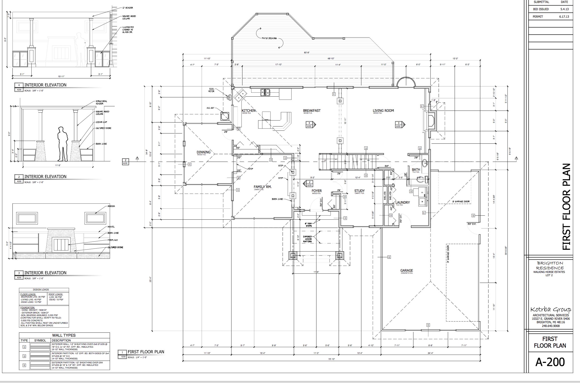 Custom Home Floor Plan