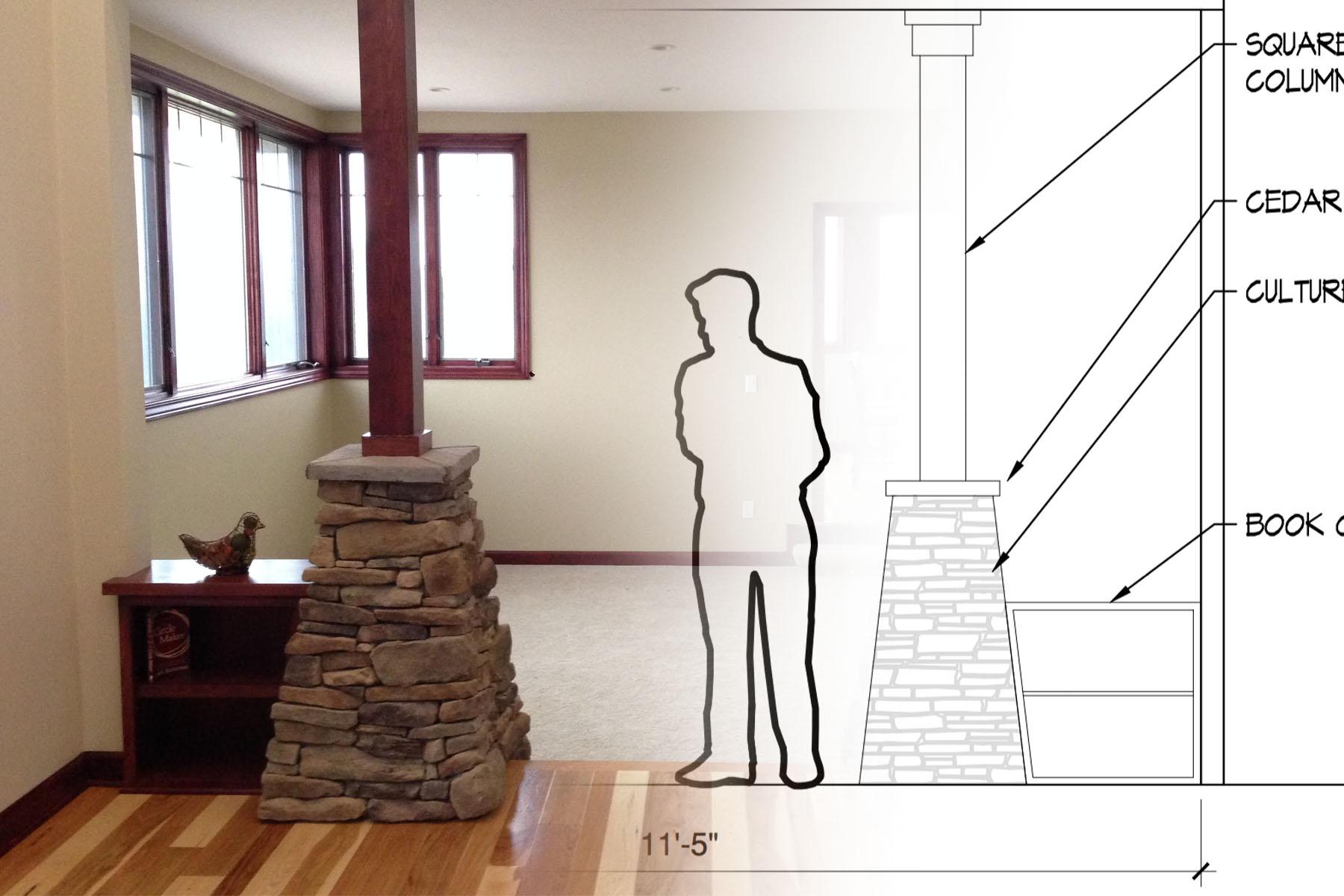 Custom Home Design Composition