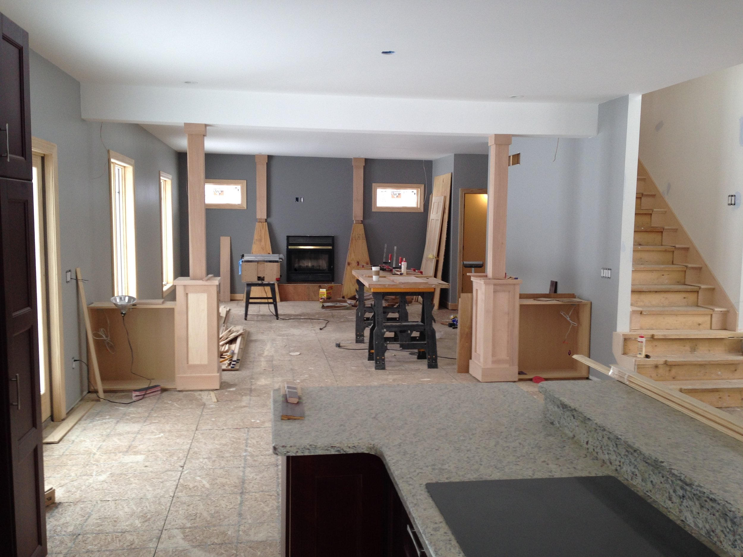 Basement Construction - Brighton Residence 2