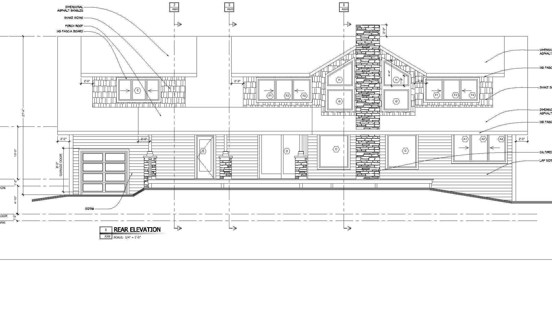 Home Plans - Little Traverse Lake Residence