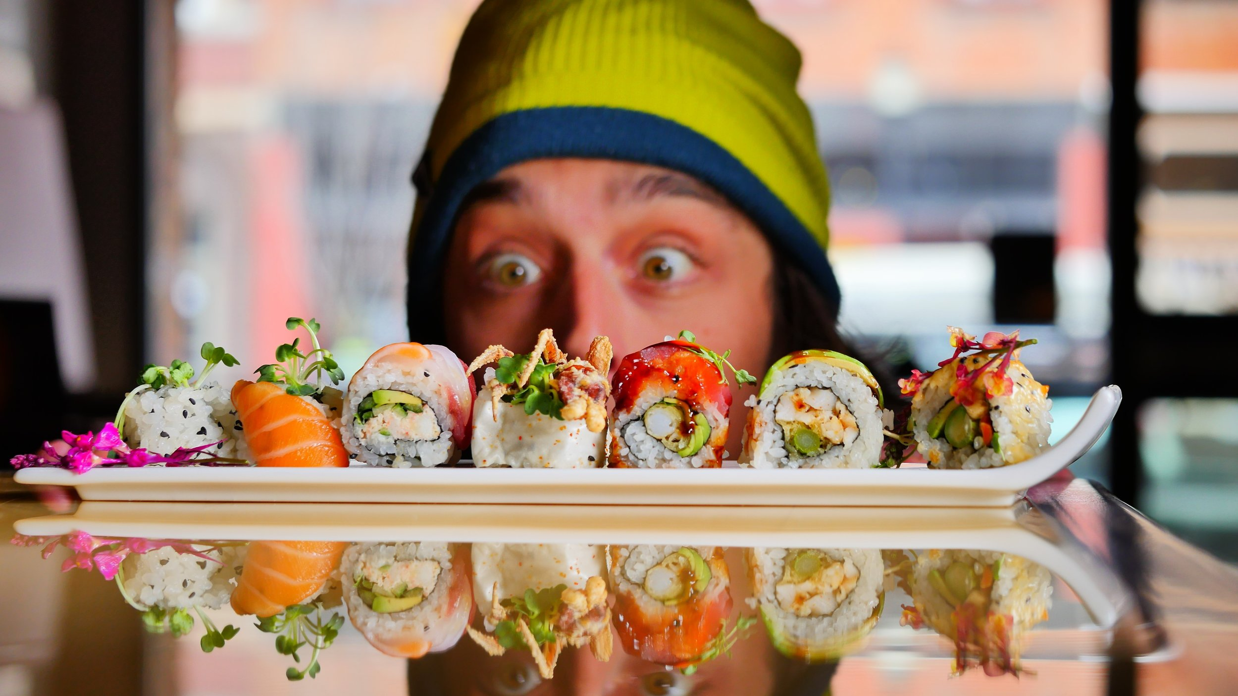 An all-star roster of our favorite sushi rolls.