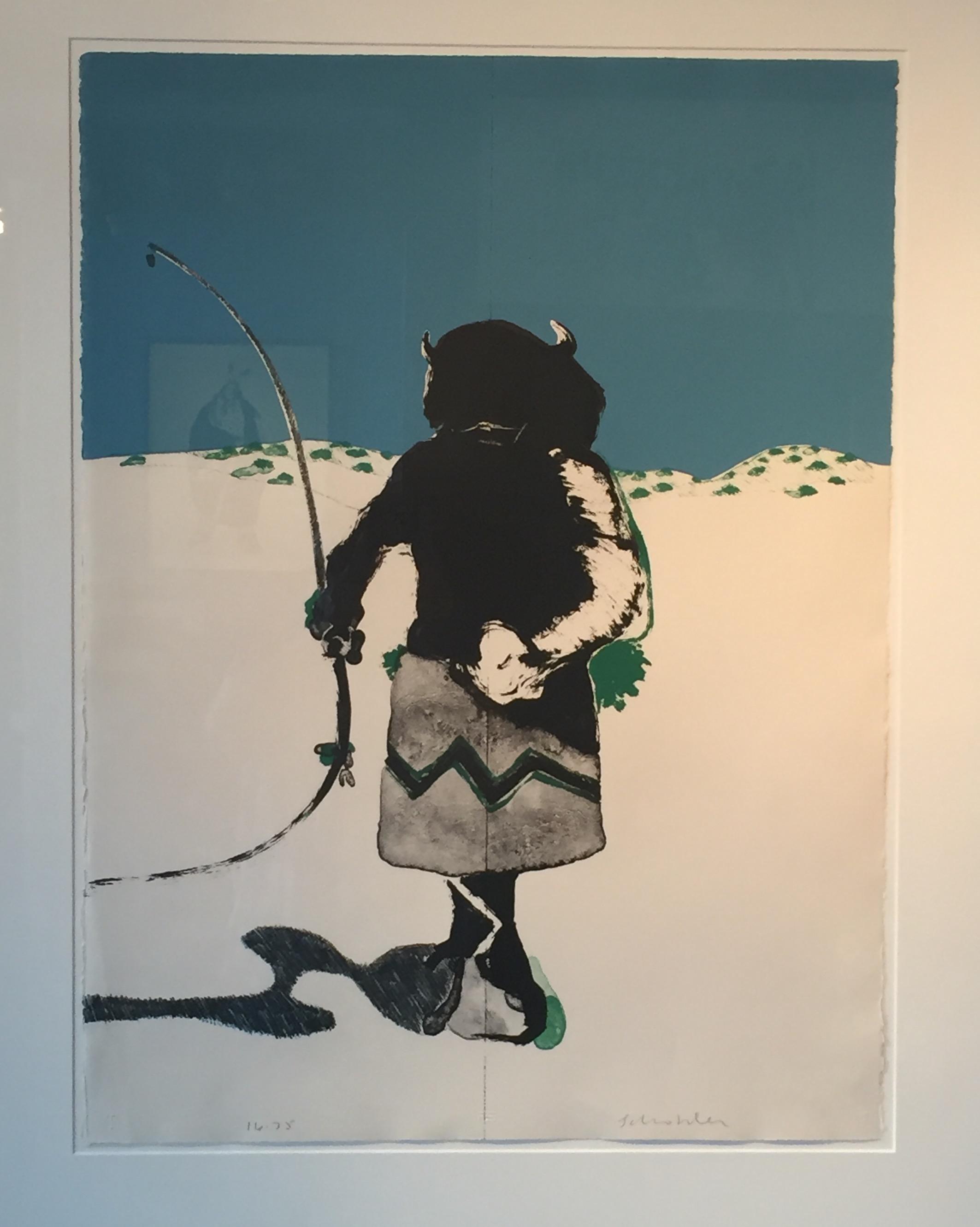 """Buffalo Dancer"" by Scholder"