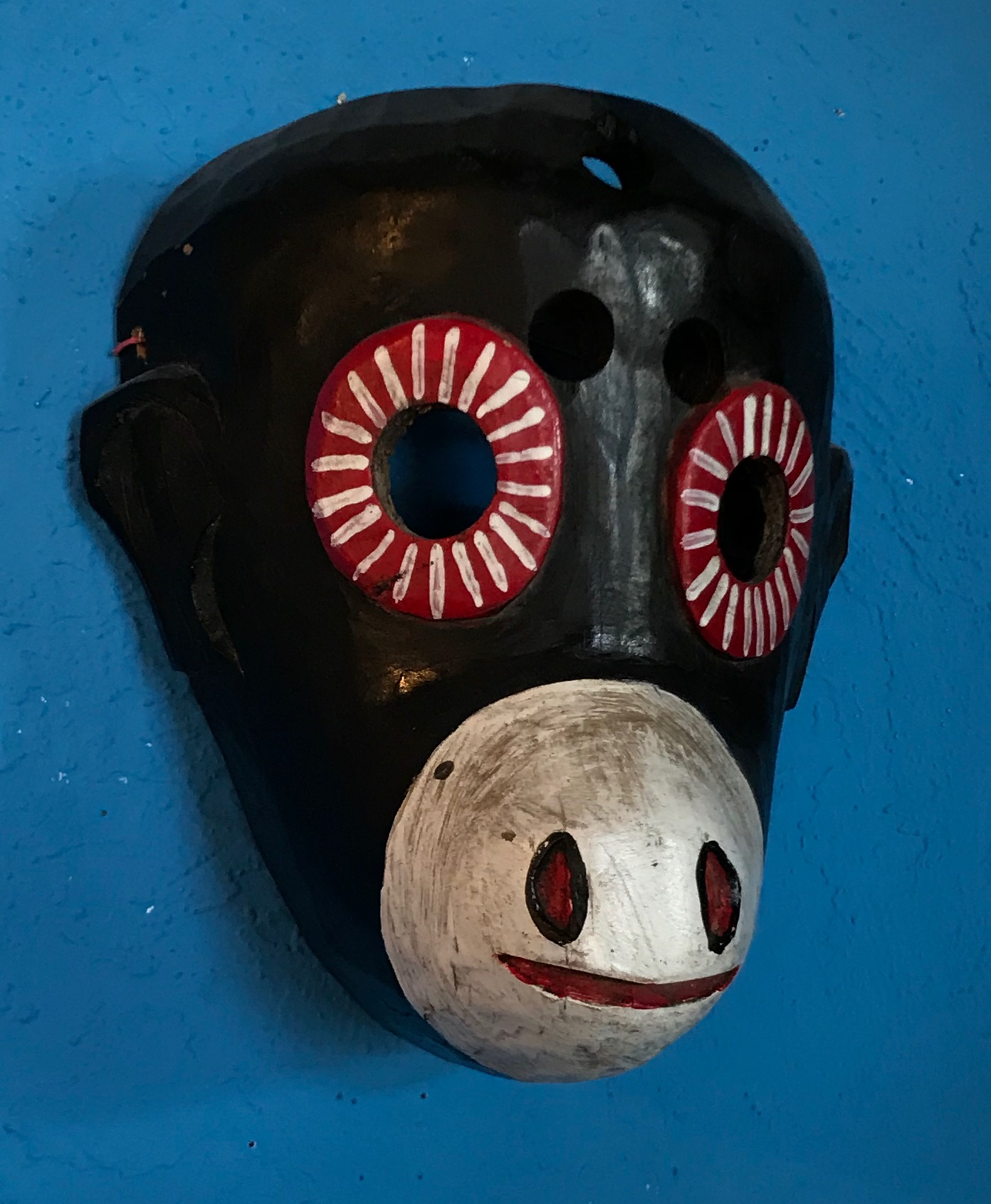 Guatemalan Monkey Mask