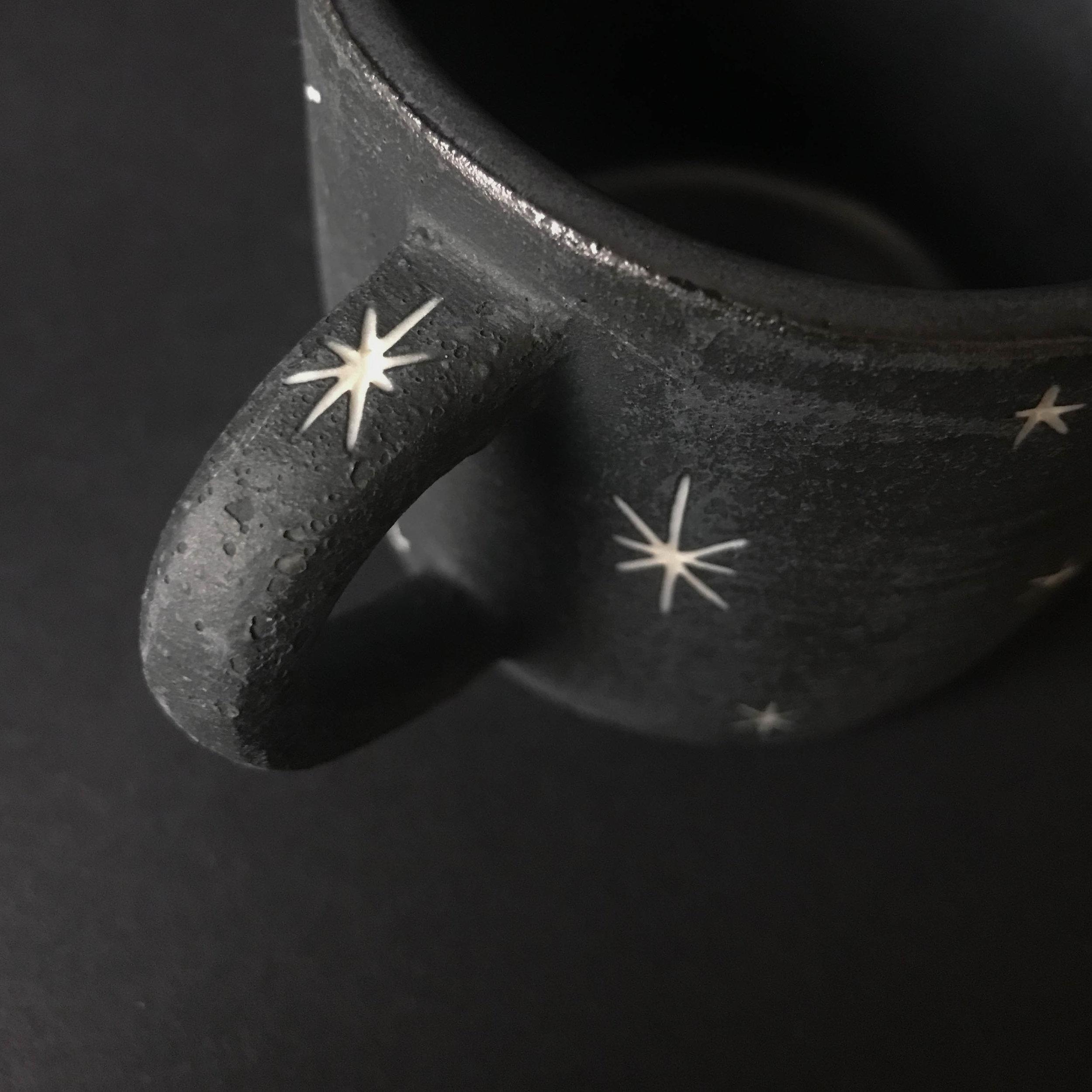 I tried to carve stars on every handle.