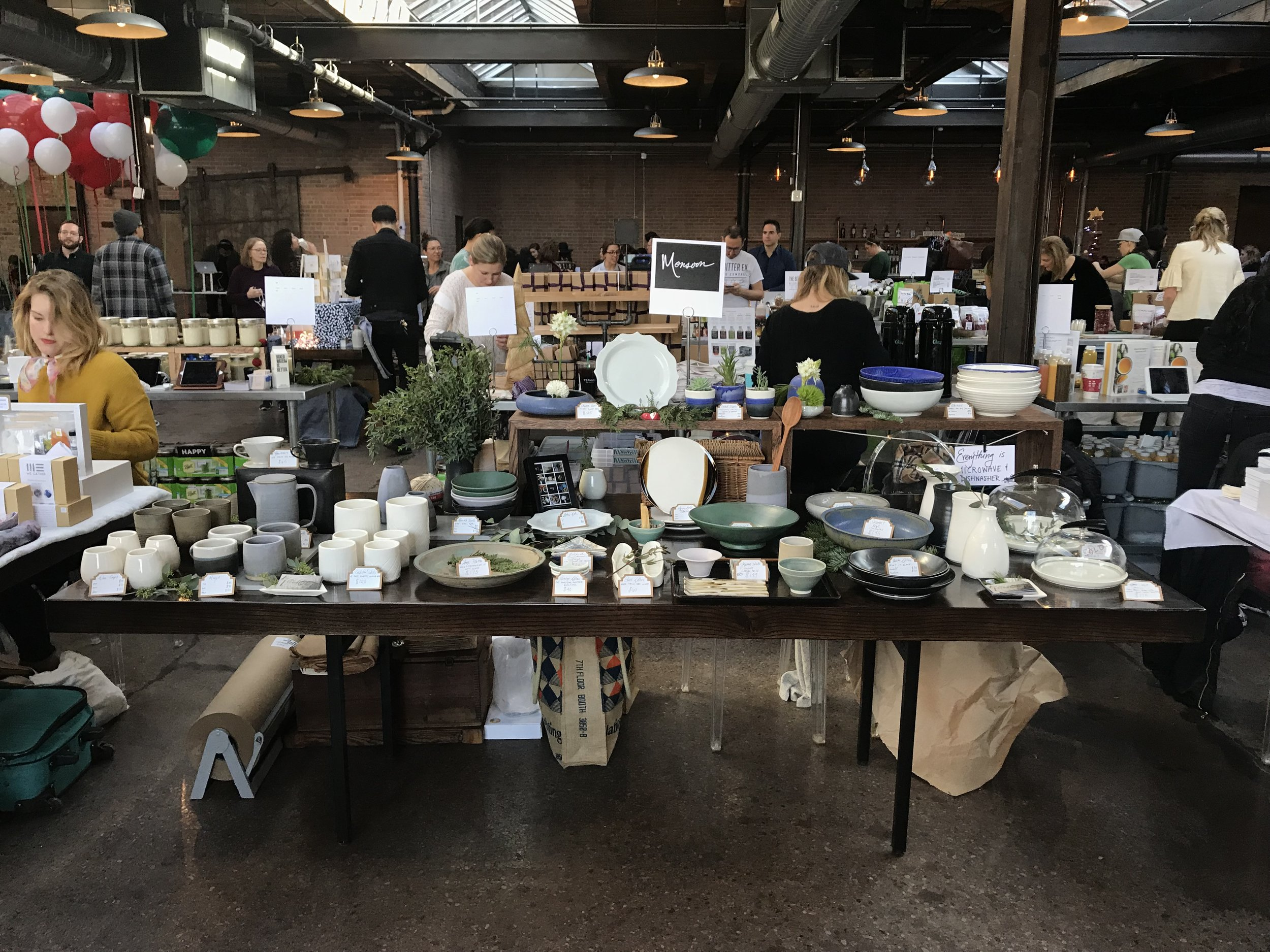 Setup for Dose Market 12/2017, HoliDose