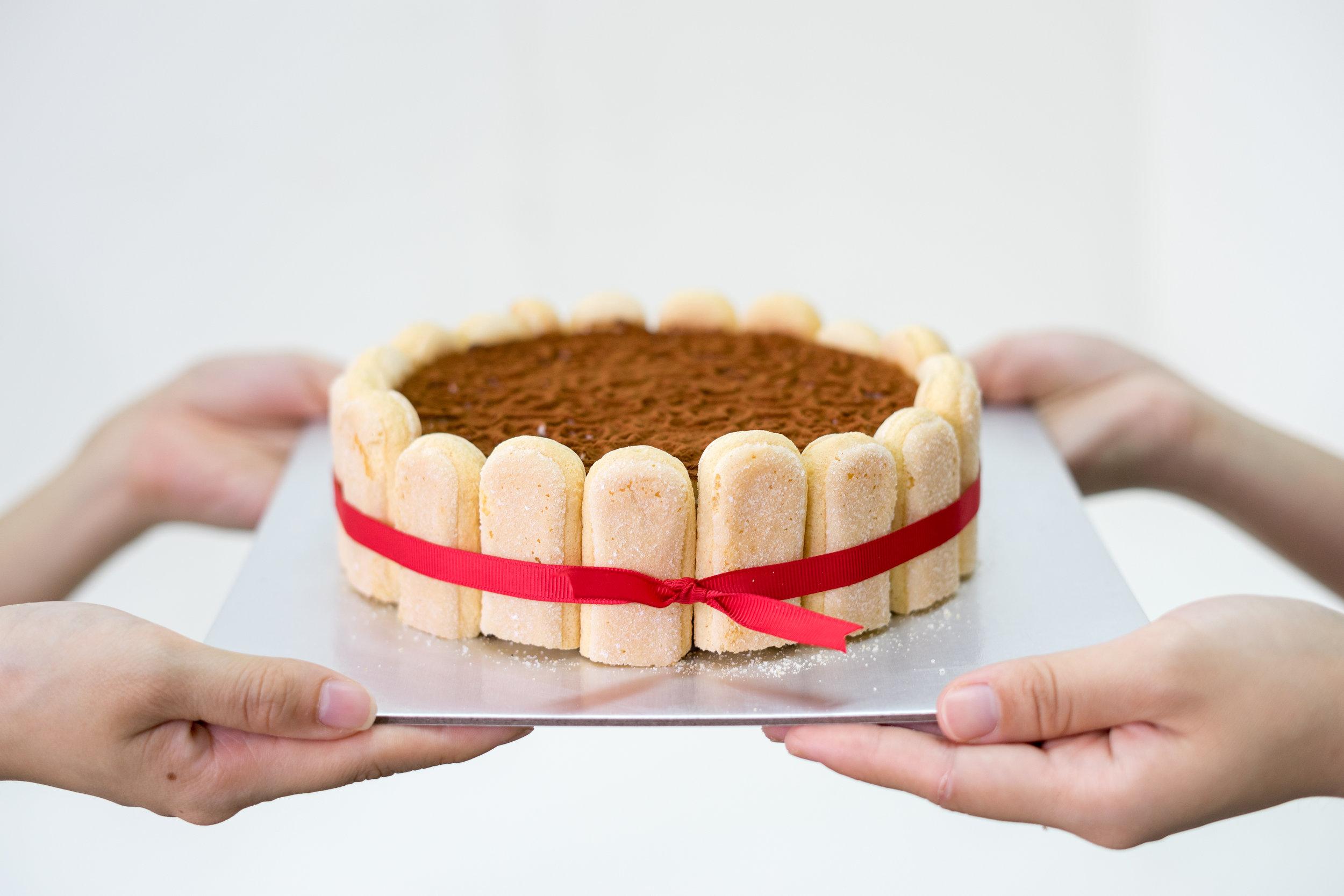 Tiramisu Cheese Mousse Cake   Homemade by Natalie