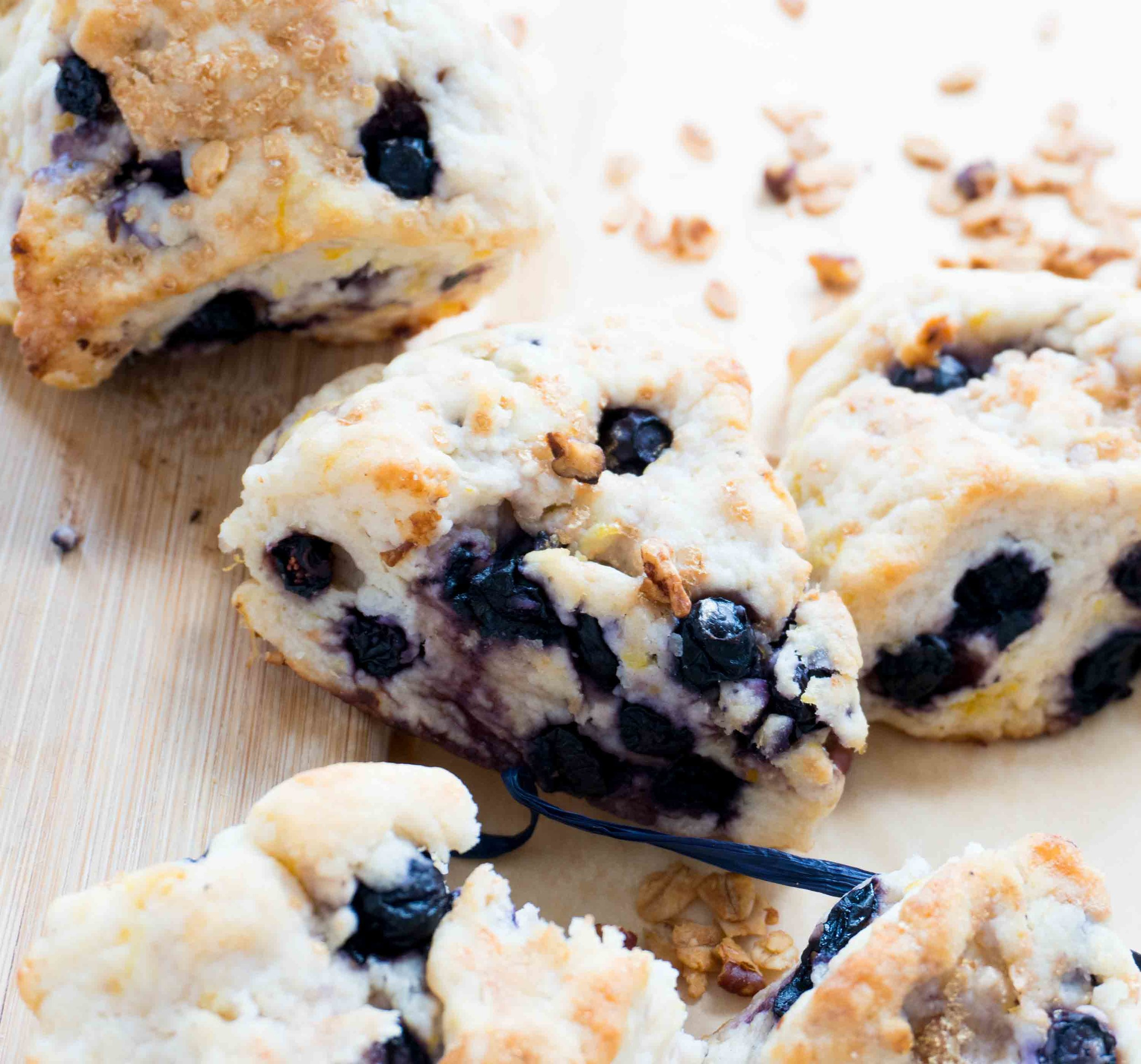 Blueberry Scones -