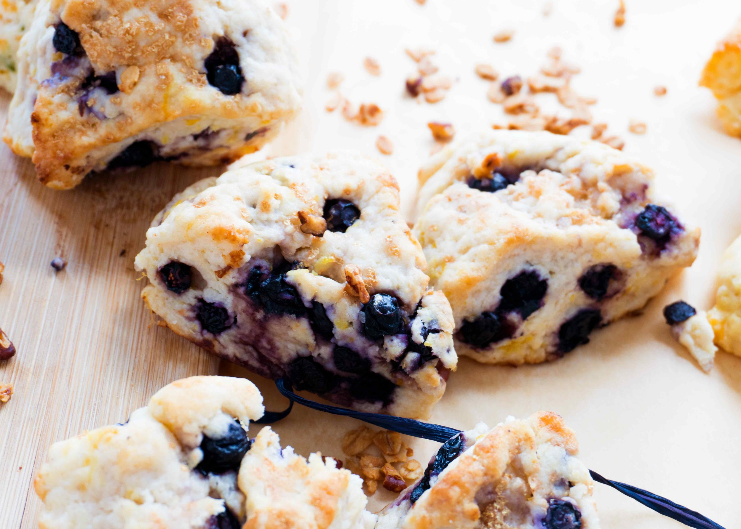 - Blueberry Scone