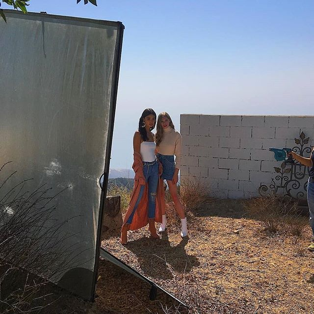 Thank you @Daniela & @Ellahopem for heating things up in Topanga. Throwback to the shoot for @LoversfriendsLA. /// For shoots, Email us for booking. #MoonfireRanch #inspireyourfire . . . #lotd #trendy #velvet #chic #vevo #detroit #Destinationshutz #wonderful_places #travelawesome #filmlocation #losangeles #ootdsubmit #photoshootfun #stylist #beauty #mountainview #theglobewanderer #windernessculture #musicvideoshoot #onset #Stayandwander #modernoutdoors