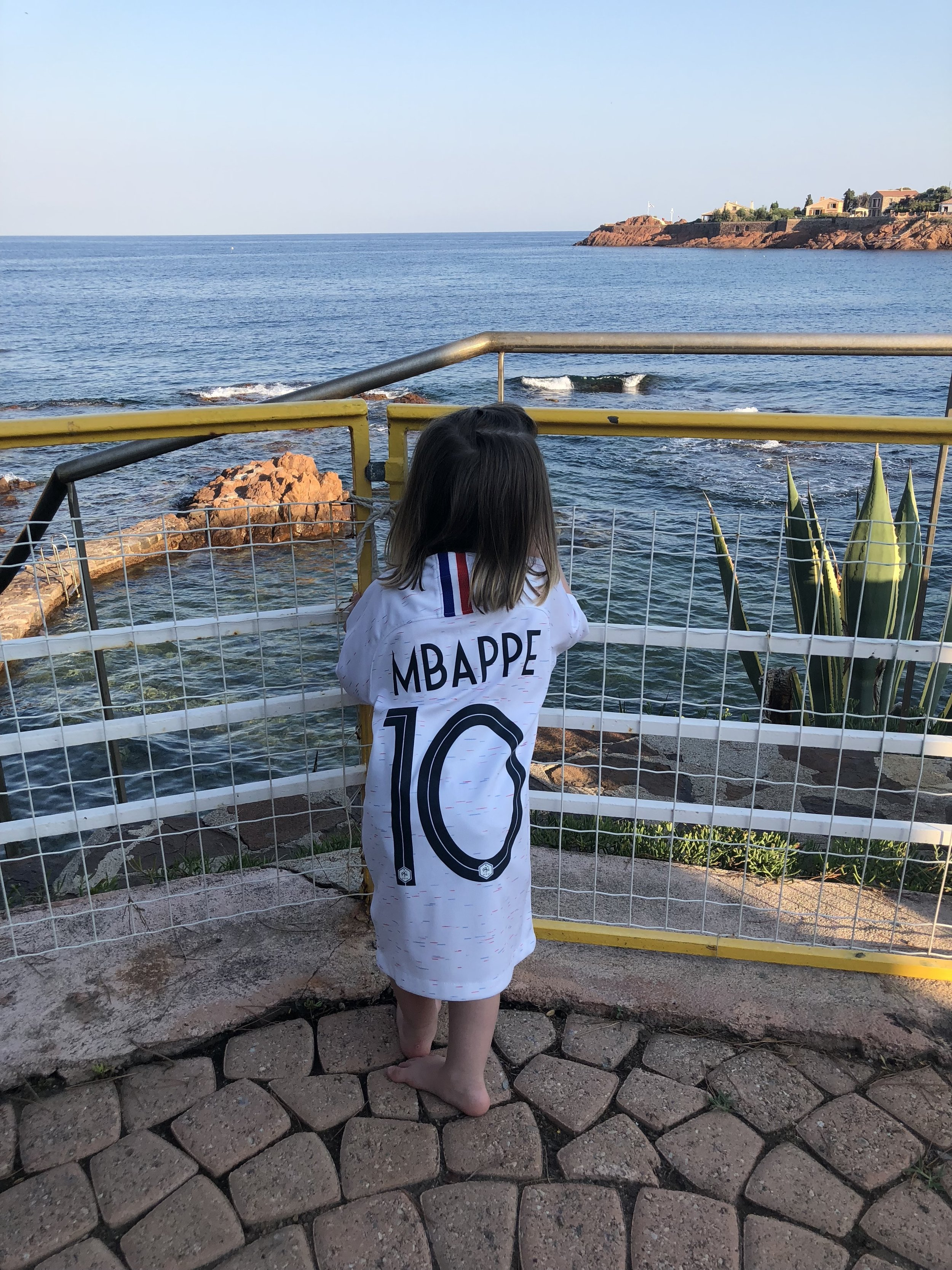 / - Antheor-France: This is Mia wearing her best kit on a very special day for France where we were all united. Unfortunately that feeling did not last long..