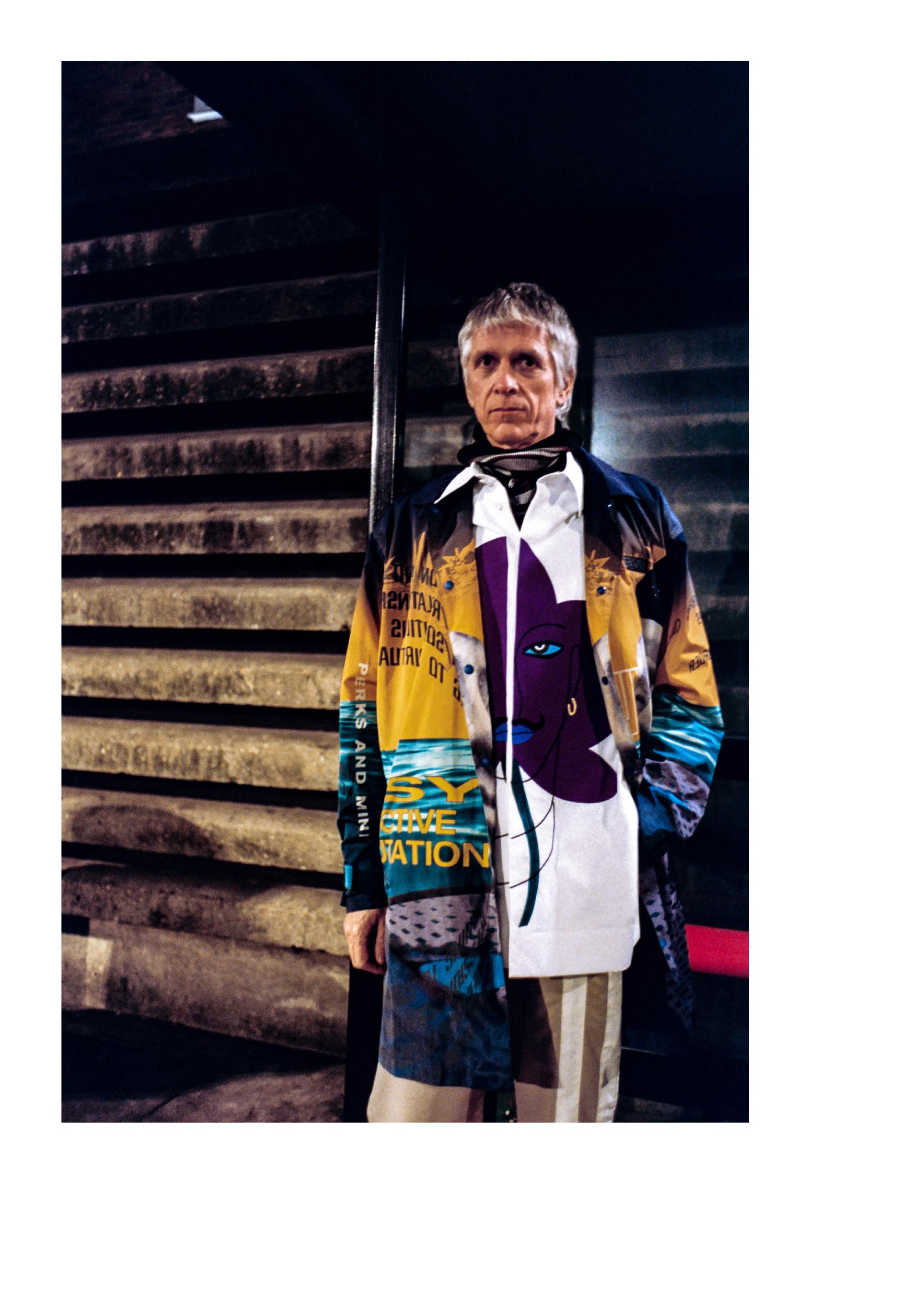 Shoes - G.H Bass Coat - PAM Balaclava - Napapjiri x Martine Rose Shirt - Pronounce Trousers - 3.Paradis