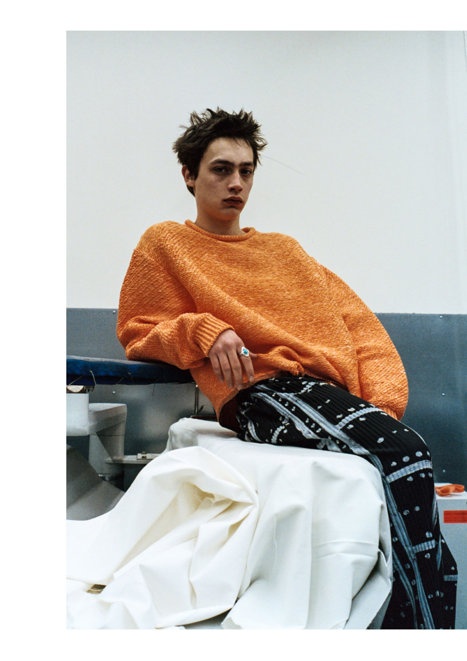 Knitwear - Acne Studios Trousers - Issey Miyake