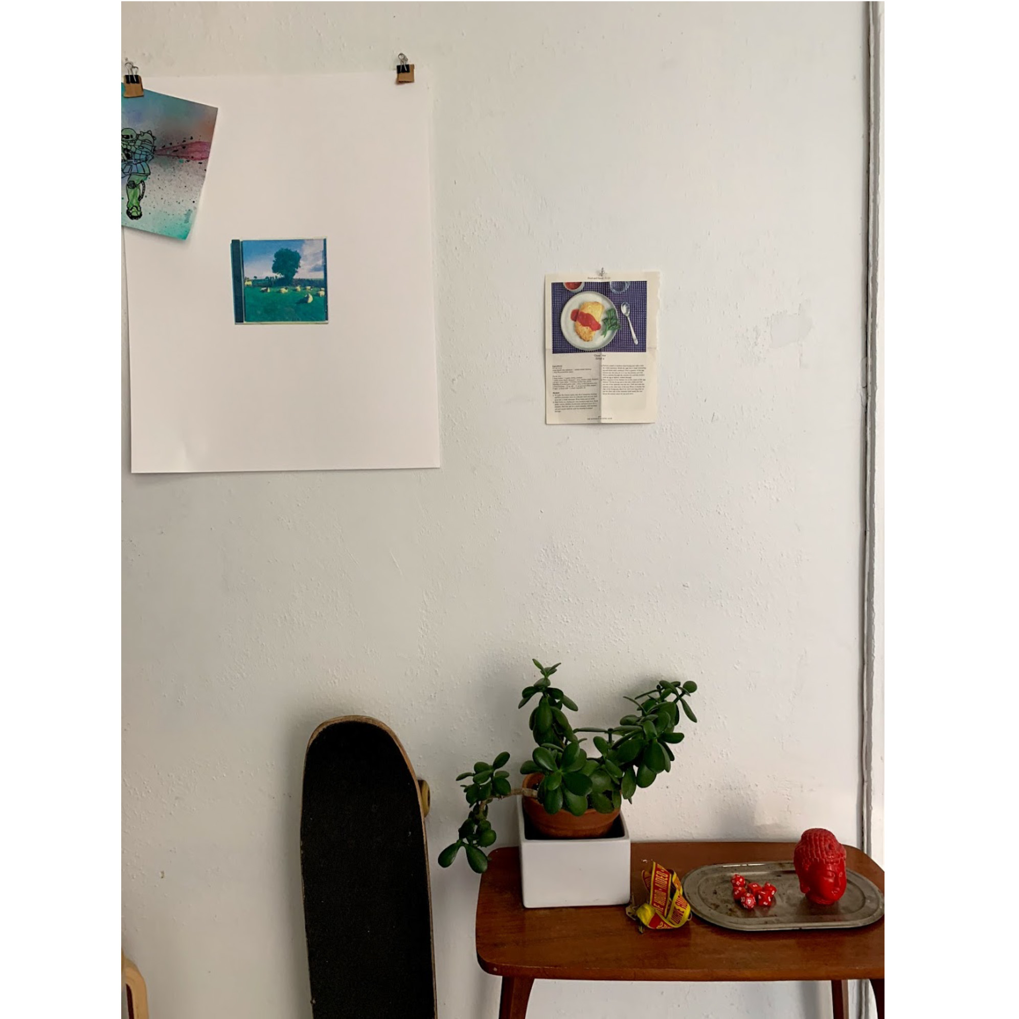 / - My studio in MacArthur Park , Los Angeles.