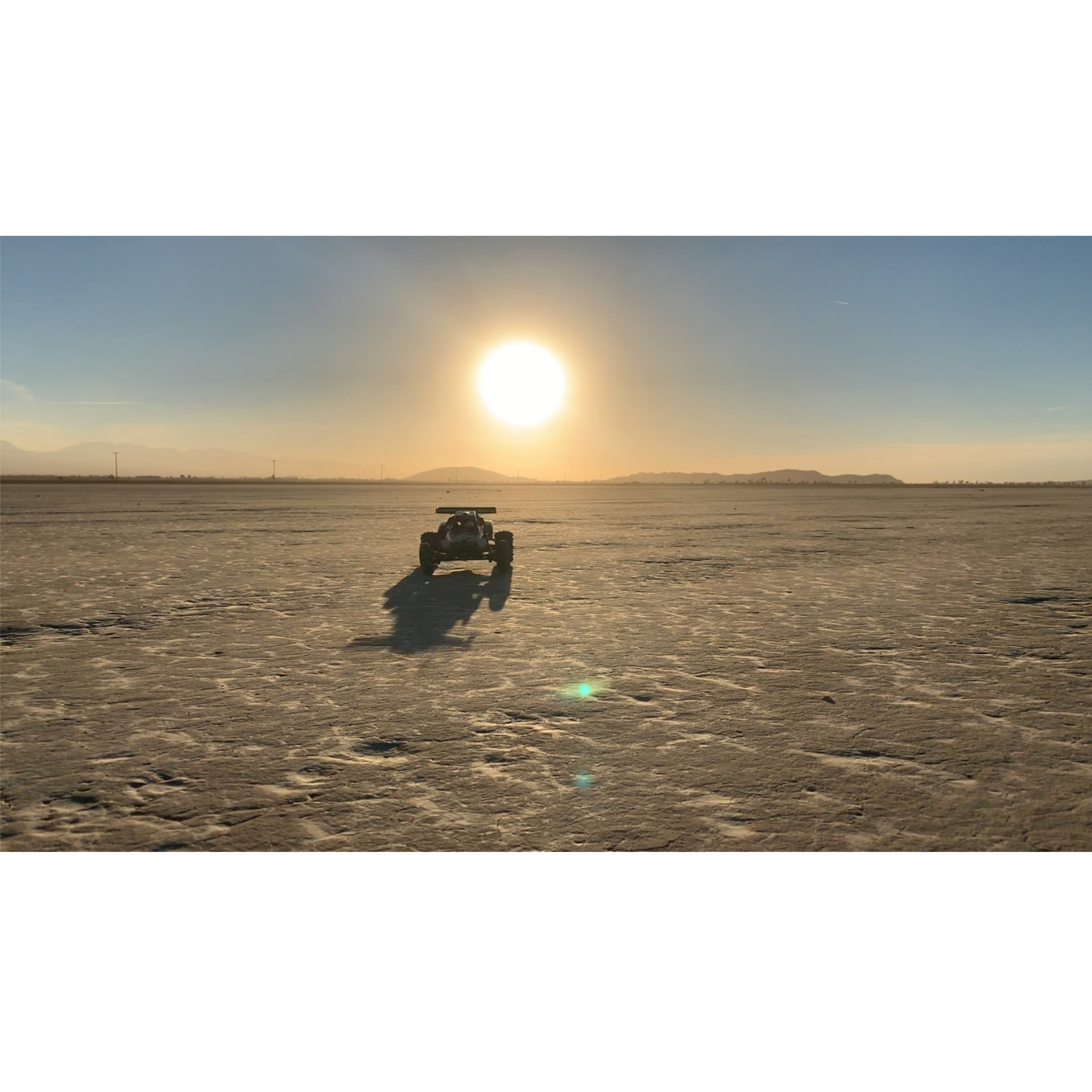 / - Instagram video for Supreme using a Tamiya Hornet. Driving it around the El Mirage dry lake bed at sunset was buzzing.