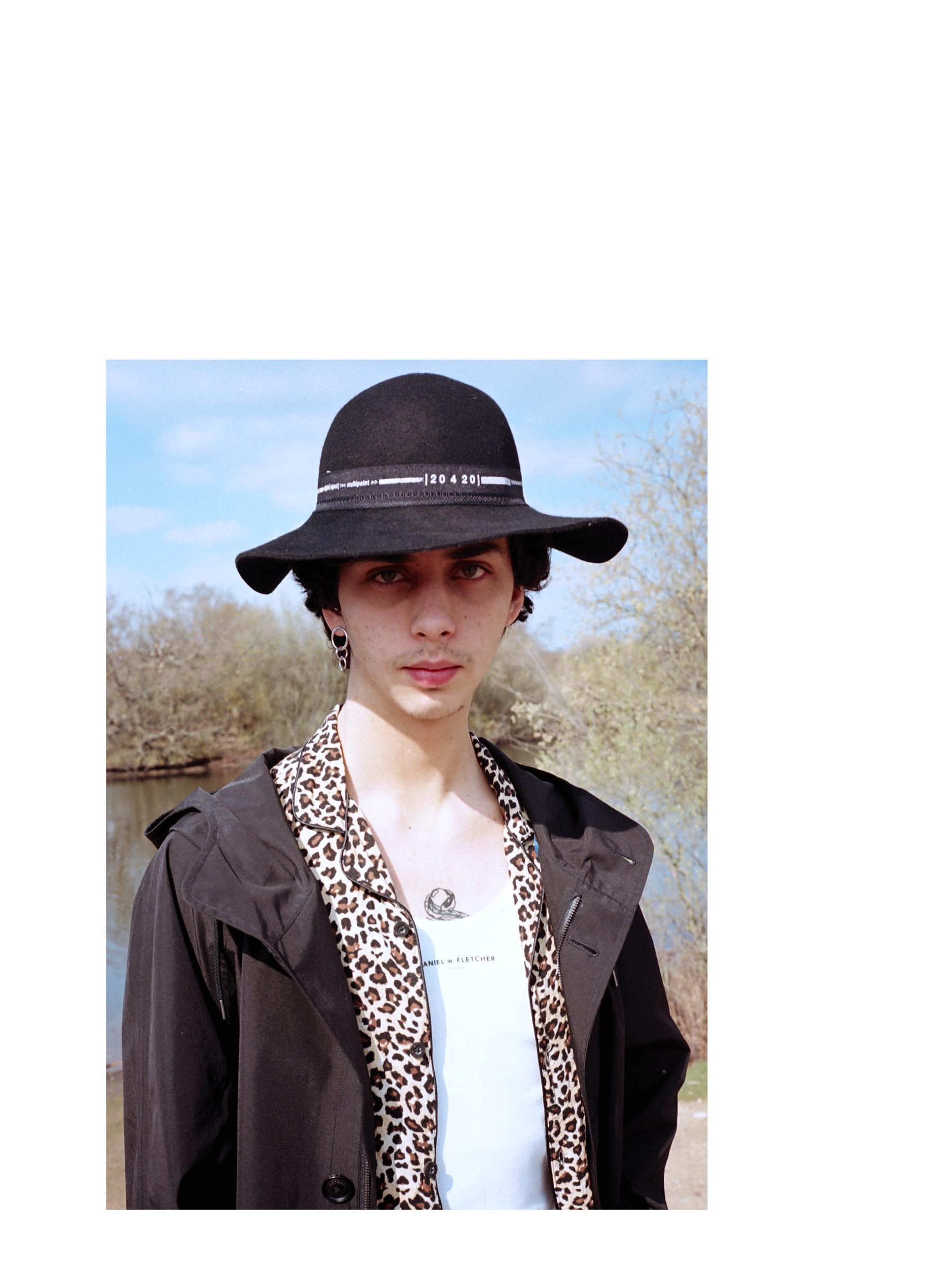 Coat - Nanamica, Shirt - Vintage, Vest - Daniel W Fletcher, Pants & Hat - Tourne de Transmission, Belt - Tres Bien, Boots - YMC