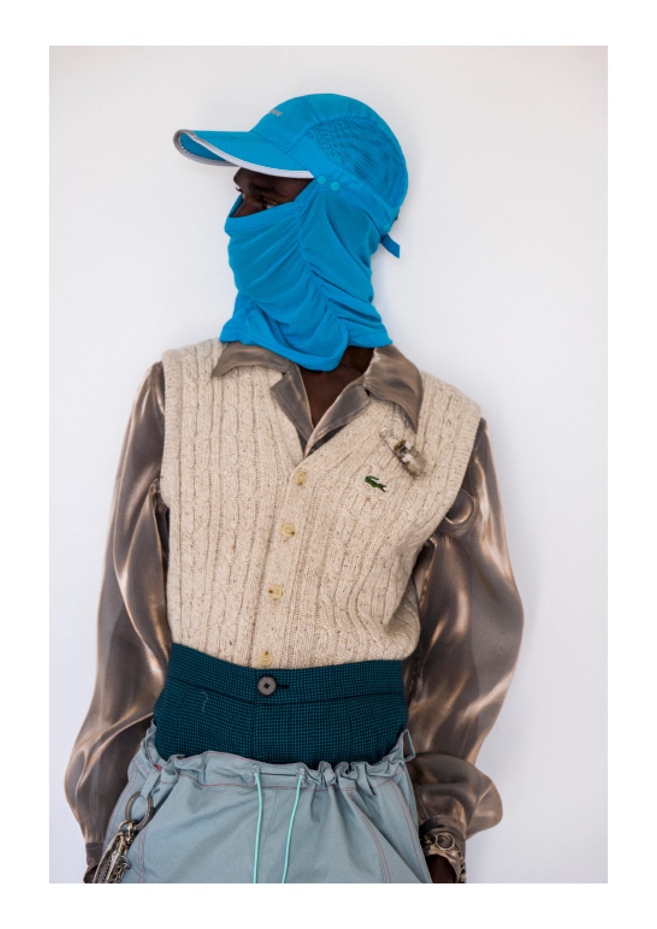 Shirt & Pants - Necessity Sense, Vest - Lacoste, Key Chain - Burberry