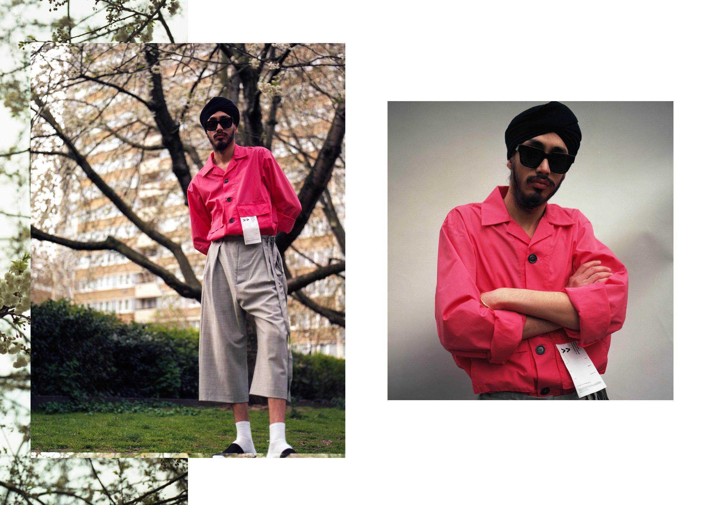 All clothes - Tourne de Transmission, Eyewear - Ace & Tate, Footwear - Clarks Originals