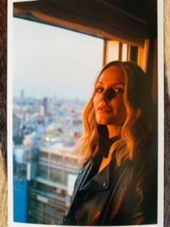 / - Monet Mazur on her birthday in Tokyo