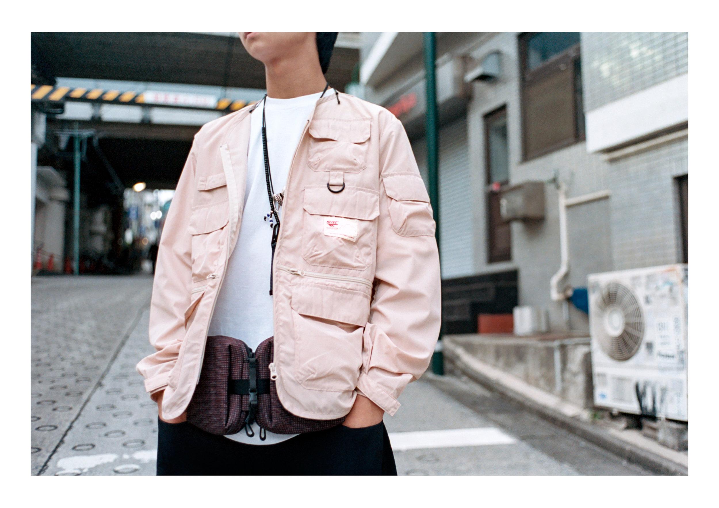 Jacket & Top - Hi Tec HTS74, Pants - Tourne de Transmission, Footwear - Hi Tec Japan, Bag - cote&ciel