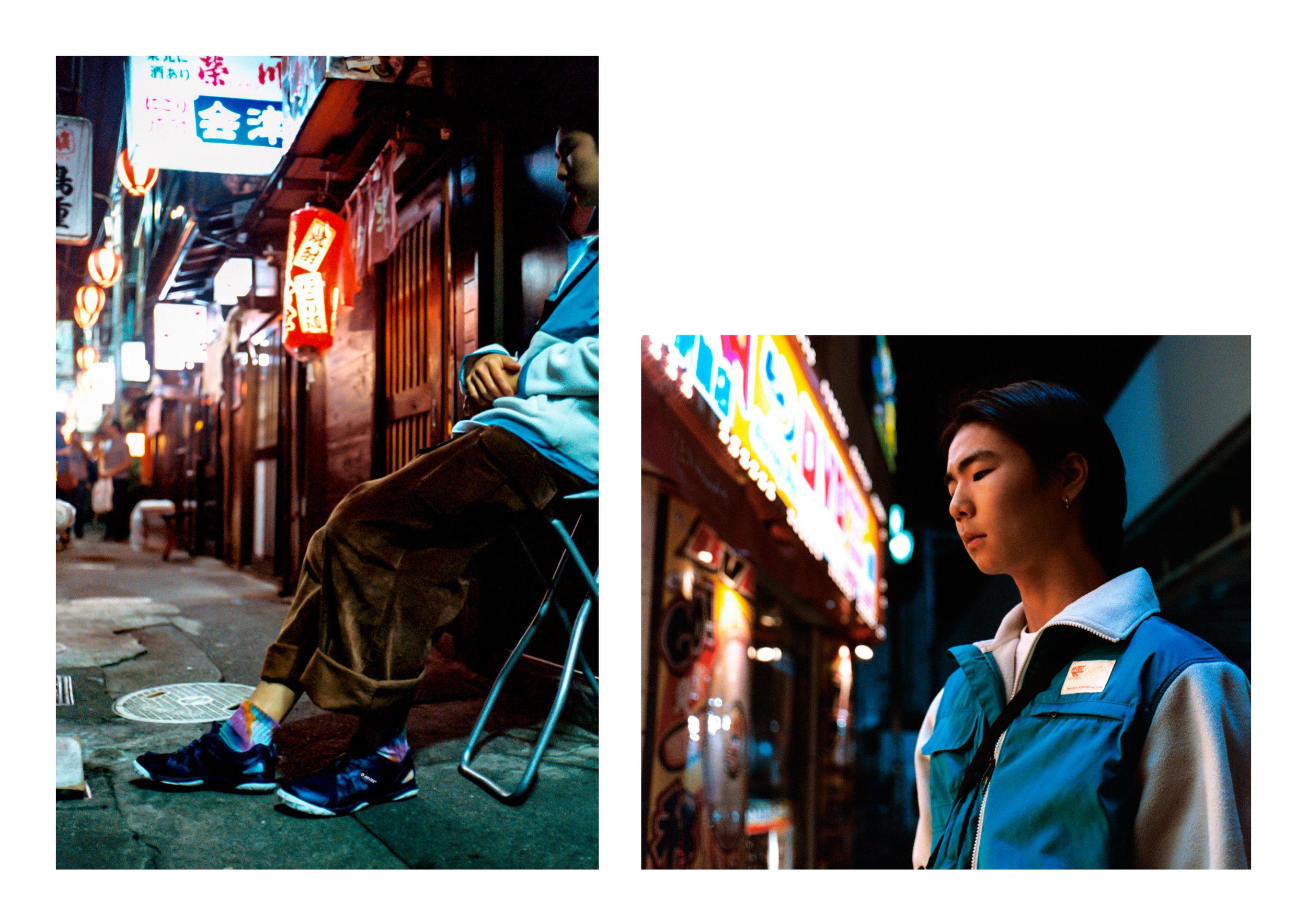 Jacket & Top - Hi Tec HTS74, Pants - E.Tautz, Footwear - Hi Tec Japan,