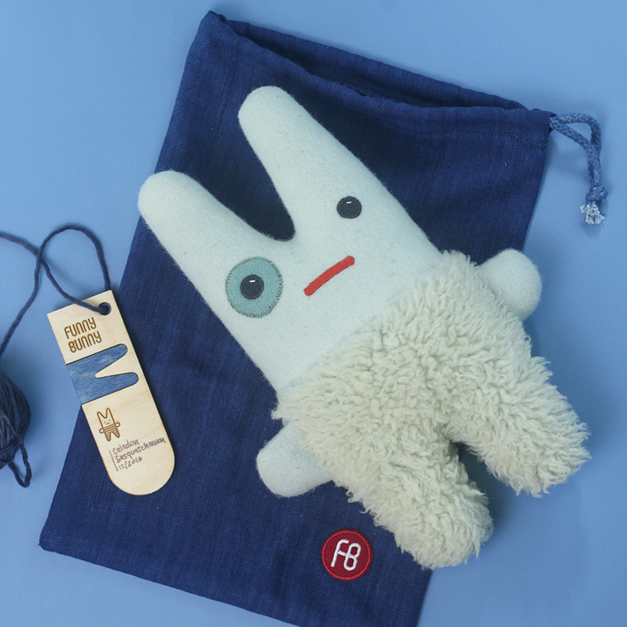 Indigo Funny Bunny packaging