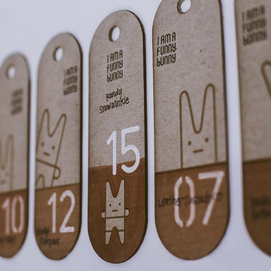 1st edition hang tags
