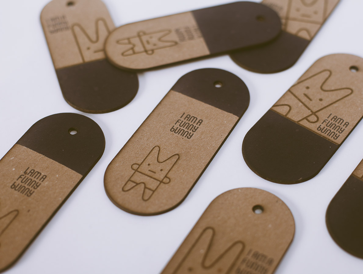 Hang tags for 2nd round of first edition