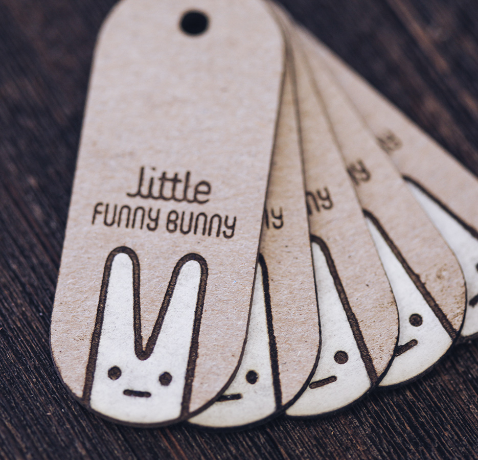 """Hang tags for """"littles"""""""